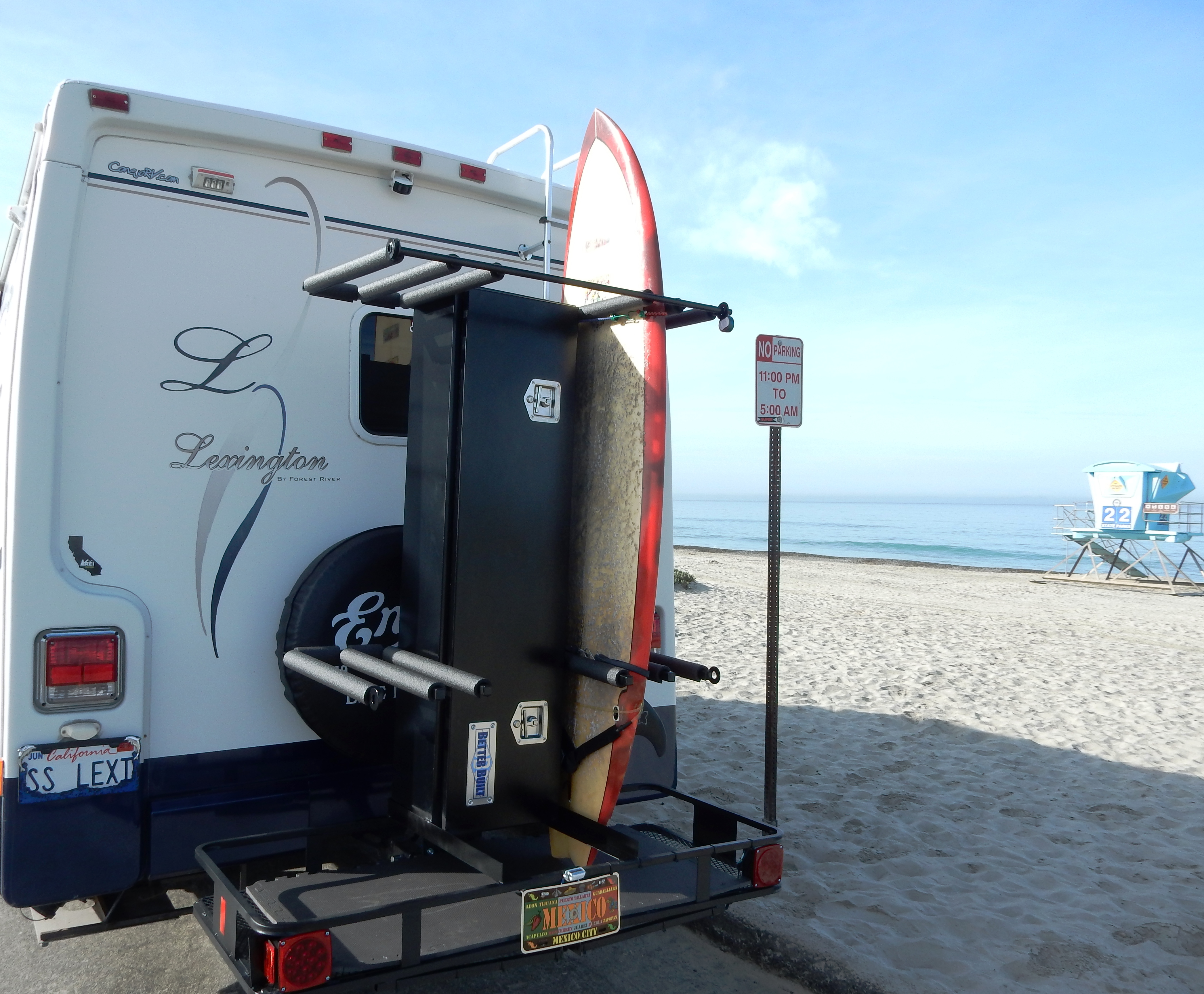 of well conjunction together rack sale as diy rv kayak racks with ladder size for in full com